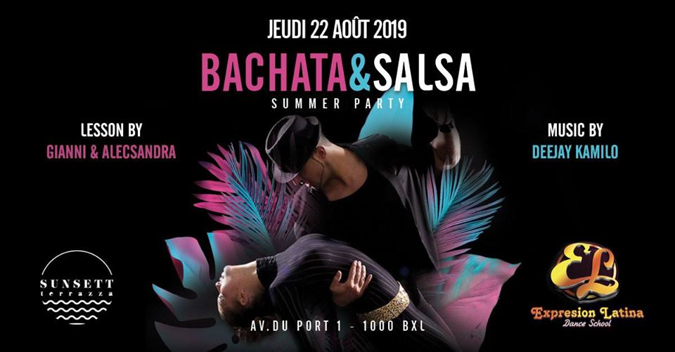 Bachata & Salsa Summer Party 05/09