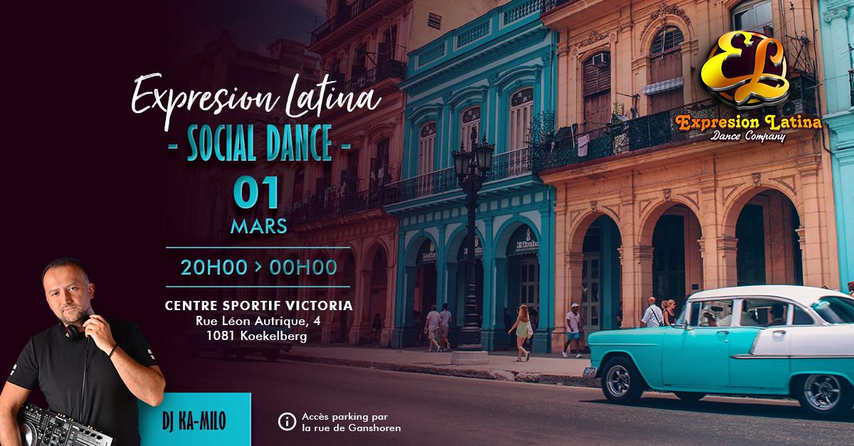 Expresion latina Social Dance
